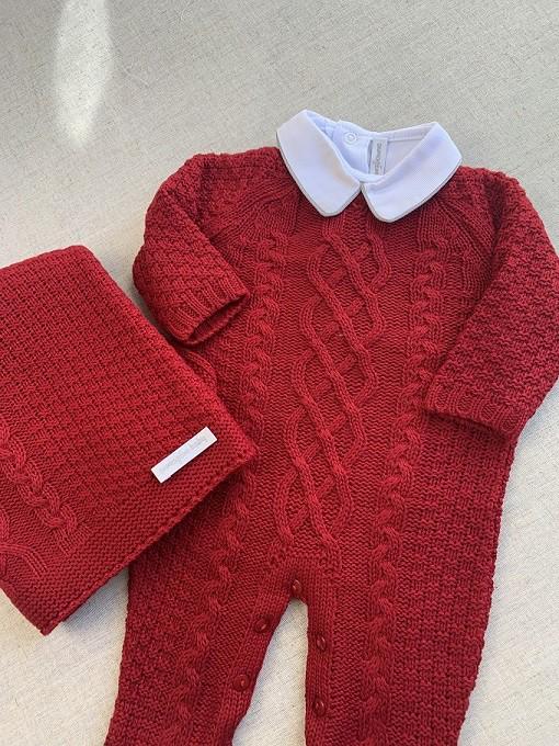Saída Maternidade Lucas Vermelha