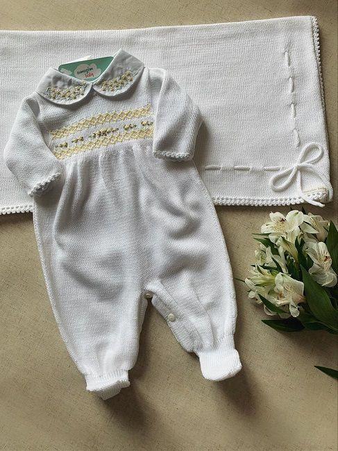 Saída Maternidade  Luisa (Branca)