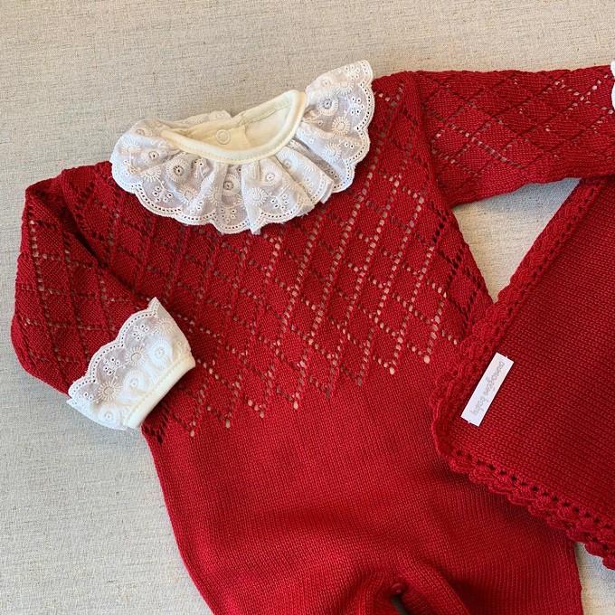 Saída Maternidade Milena Vermelha