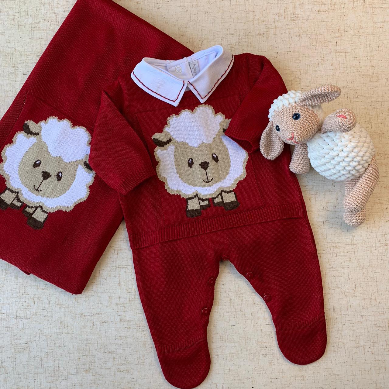 Saída Maternidade Ovelha vermelha