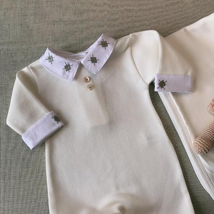 Saída Maternidade tricotil  Lorenzo