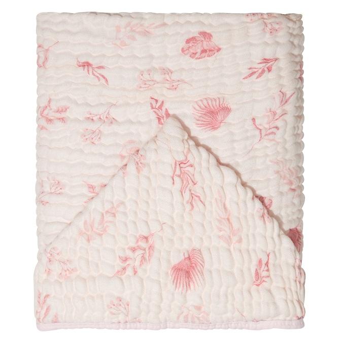 Toalha de Banho Soft Bamboo- folhagem rosa