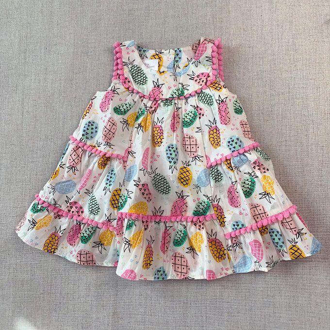 Vestido abacaxis