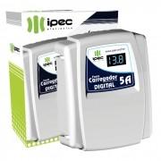 Carregador Eletrônico Digital 5A Ipec