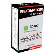 Receptor De Controles Remotos 8 Canais Ipec