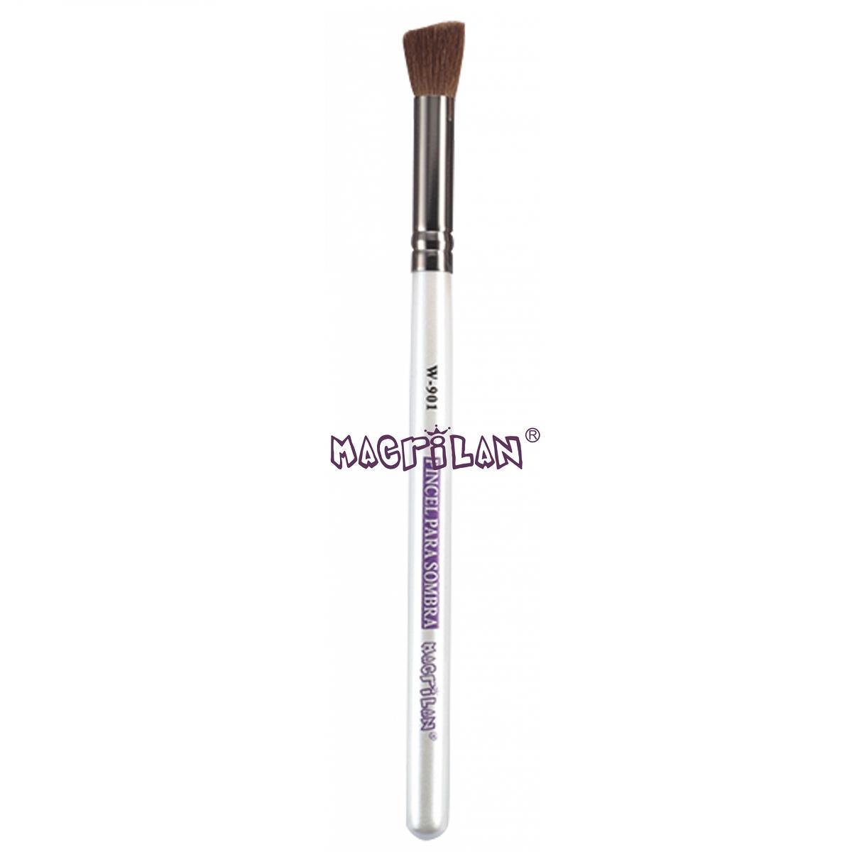 Pincel Macrilan para Sombra W901 - Maquiagem Profissional com Cerdas Naturais
