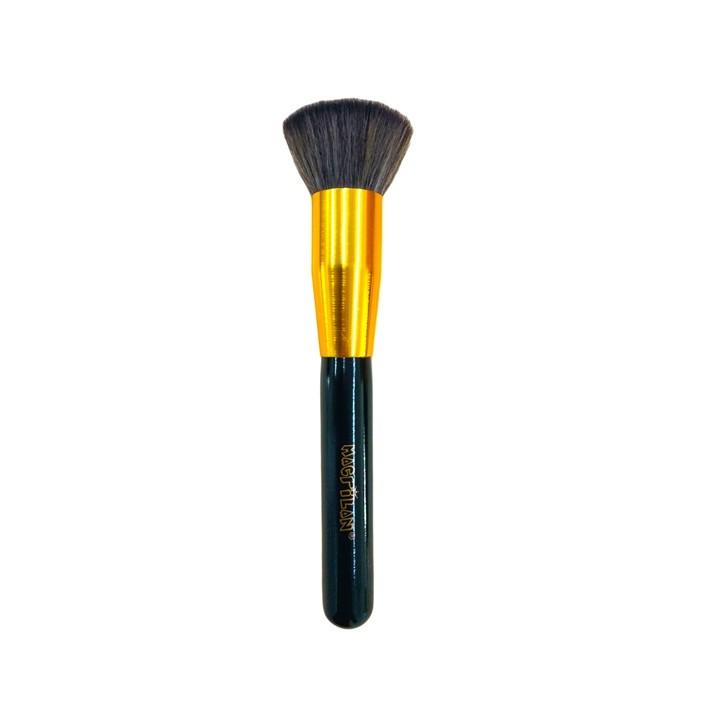 Pincel Profissional Kabuki Reto G115 - Macrilan Linha Gold