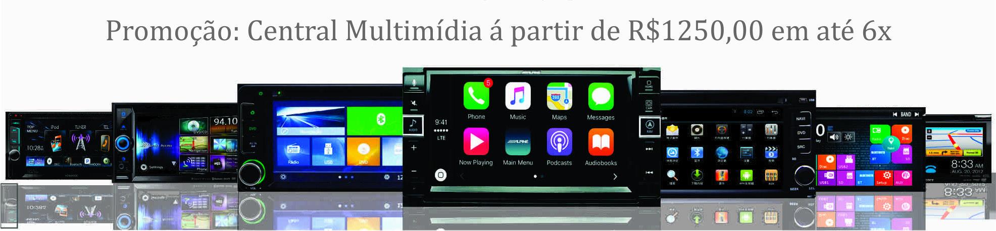Central Multimdia Android Original, Todos os Modelos