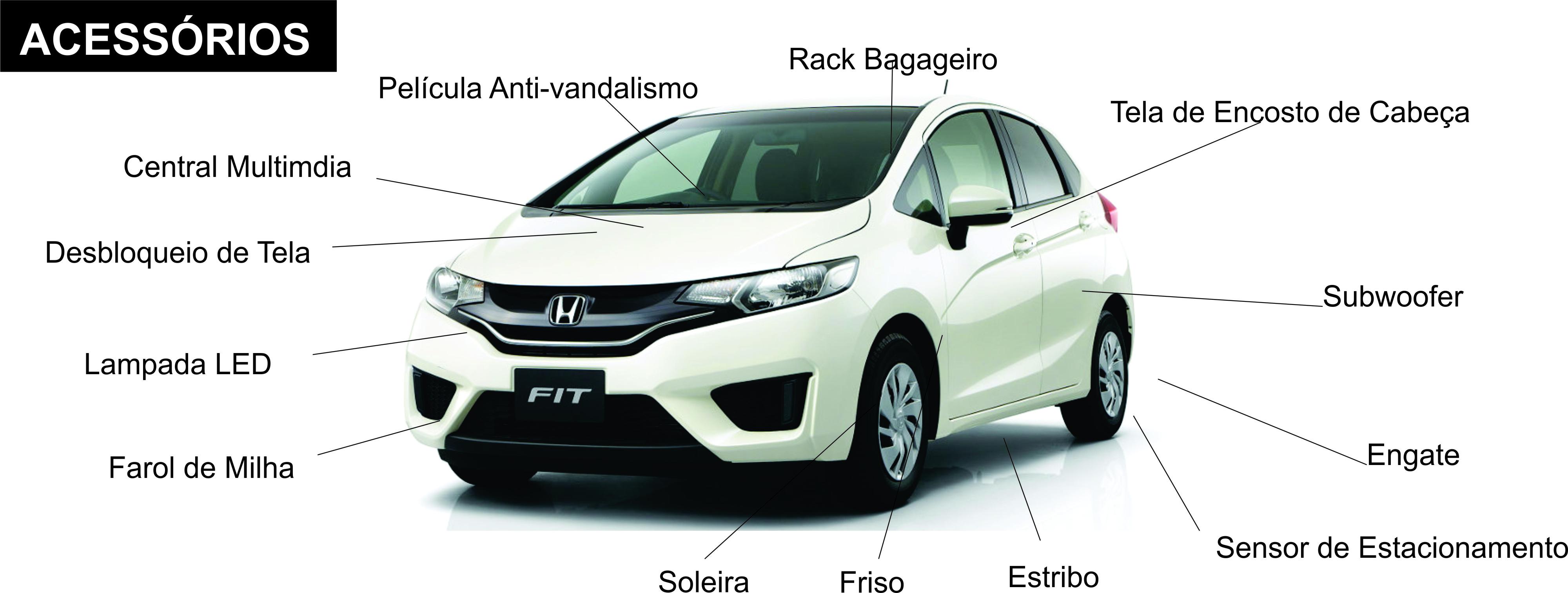 Acessorios Original Honda Fit
