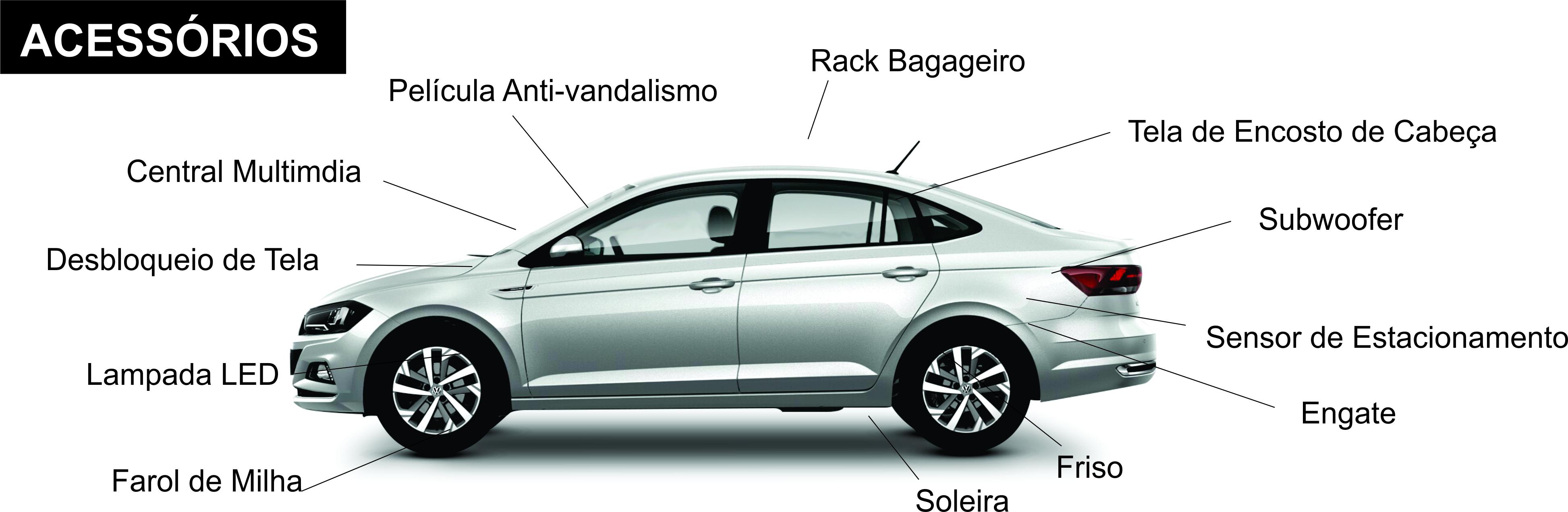 ACESSORIOS VW VIRTUS