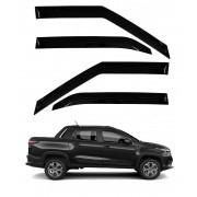 Calha Defletor De Chuva Fiat Strada CD 2021 - 4 portas