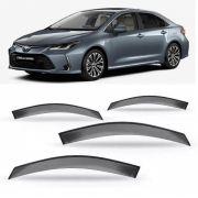Calha Defletor De Chuva Toyota Corolla 2020 2021