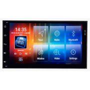 Central Multimídia Chevrolet Cobalt / Onix / Spin LT LS 2013 á 2017 Aikon - Android - Com DVD GPS Mapa Bluetooth MP3 USB Ipod SD Card Câmera Ré Grátis