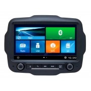CENTRAL MULTIMIDIA  JEEP RENEGADE PCD tela 9 polegadas  GPS MAPA BLUETOOTH MP3 USB TV DIGITAL SD CARD CÂMERA DE RÉ GRÁTIS S90