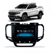 Central Multimidia Fiat Toro Winca Winca ULTRA+ tela 9 polegadas QLED LCD SCREEN Processados Octacore 32Bg CarPlay, 2 Cameras Ré e Frontal, Waze, Youtube - Android 10.0