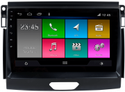 Central Multimidia Ford RANGER 2016/2019 xls -  Aikon ATOM X9 - Tela 9 pol - Waze Spotify - 2 cameras Ré + Frontal - GPS Integrado -  Bluetooth - 2 entradas USB - Android 10.0