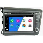 Central Multimídia Honda Civic 2012 á 2016 -  Aikon Xdroid - Android  Mapa Bluetooth MP3 USB Ipod SD Card Câmera Ré Grátis