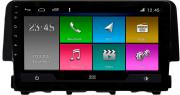 Central Multimidia Honda Civic G10 2017 / 2021 -  Aikon ATOM X9 - Tela 9 pol - Waze Spotify - 1 cameras Ré - GPS Integrado -  Bluetooth - 2 entradas USB - Android 10.0