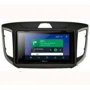 Central Multimidia Hyundai Creta 8 polegadas  - Pioneer DMHZS-8280TV+ Moldura 2 Din - CarPlay AndroidAuto - 8280