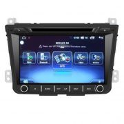 Central Multimídia Hyundai Creta Tela 8 polegadas -  S200+  Android 8.0 - 2 Câmeras Ré + Frontal -  TV Digital DVD GPS Bluetooth MP3 USB Ipod SD Card