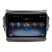 Central Multimidia Hyundai Santafe 2013 a 2018 Winca ULTRA+ tela 9 polegadas QLED LCD SCREEN Processador Octacore 32Bg CarPlay, 2 Cameras Ré e Frontal, Waze, Youtube - Android 10.0