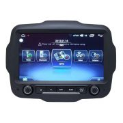 Central Multimidia Jeep Renegade Winca tela 9 polegadas S200+  Android 8.0 - 2 Câmeras Ré + Frontal -  TV Digital GPS Bluetooth MP3 USB