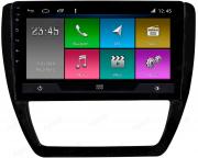 Central Multimidia VW JETTA 2011/2017 -  Aikon ATOM X10 - Tela 10 pol - Waze Spotify - 2 cameras Ré + Frontal - GPS Integrado -  Bluetooth - 2 entradas USB - Android 10.0