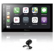 Central Multimidia Pioneer DMHZ6380TV Wi-fi - GPS Waze Car play / AndroiAuto - Tela 7 pol TV Digital - Bluetooth Entr. USB + Camera de ré (6380)