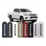 Jogo Friso Lateral Pintado Toyota Hilux 2015 á 2020 - Cor Original