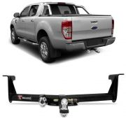 Engate para reboque Ford Ranger 2012 á 2021 - cabeça removivel - 700kg