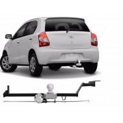 Engate para reboque Toyota Etios 2016 Á 2020 - Hatch ou Sedan