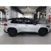 Envelopamento de Teto Toyota Corolla Cross - Completo Teto , Colunas e Aerofólio - Black Piano / fosco