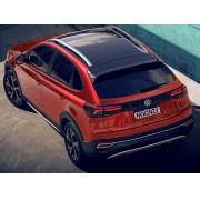 Envelopamento de Teto VW Nivus - Completo Teto e Aerofólio - Black Piano