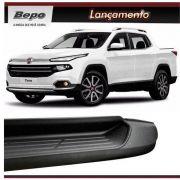 Estribo Lateral Fiat Toro 2016 A 2021 Plataforma Injetado - Alumínio Preto -BEPO