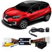 Interface + Câmera De Ré Renault CAPTUR KWID DUSTER SANDERO LOGAN    Faaftech FT-VF-RN
