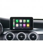 Interface Carplay multimídia Mercdes Bens Cla Gla Cls Glk Classe A B C  -  Carplay / AndroidAuto - Camera ré Opcional