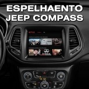 Interface Desbloqueio De Video + Espelhamento Jeep Compass 2017 2019  Faaftech