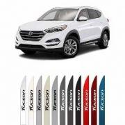 Jogo Friso Lateral Pintado Hyundai New Tucson 2017 2020 - Cor Original