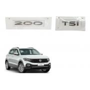 Kit Emblema T-cross Sense 200 Tsi Original Volkswagen