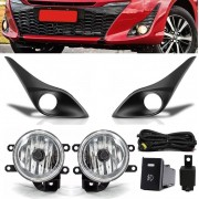 Kit Farol de Milha Neblina Toyota Yaris - Hatch Sedan