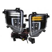 Kit Farol Milha Mitsubishi L200 TRITON SPORT 2021 2022 GLS - FULL LED - Acompanha Suportes  - PRODUTO INSTALADO