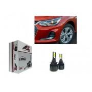 KIT Lampadas Onix Nova Geração 2020 / 2021 - LED ULTRA Slim - H7 Farol Baixo - c/ Canceller Cambus - 7.000 lums