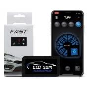 Módulo De Aceleração Tury Fast 2.0 B - Acelerador Anti Lag - Bluetooth