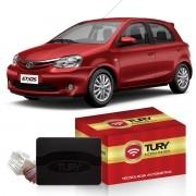 Módulo Subida De Vidro Etios 2012 Á 2021 -  Tury Pro 4.8 CJ  - Com Anti - esmagamento