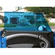 Película Automotiva Especial Linha Profissional Proteção Solar G20 G35 -  AZUL MERCEDES