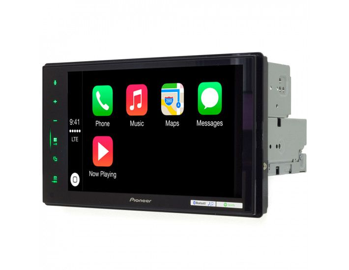 Central Multimidia Pioneer DMH-Z 5280TV -GPS Waze Car play / AndroiAuto - Tela 7 pol TV Digital - Bluetooth Entr. USB + Camera de ré