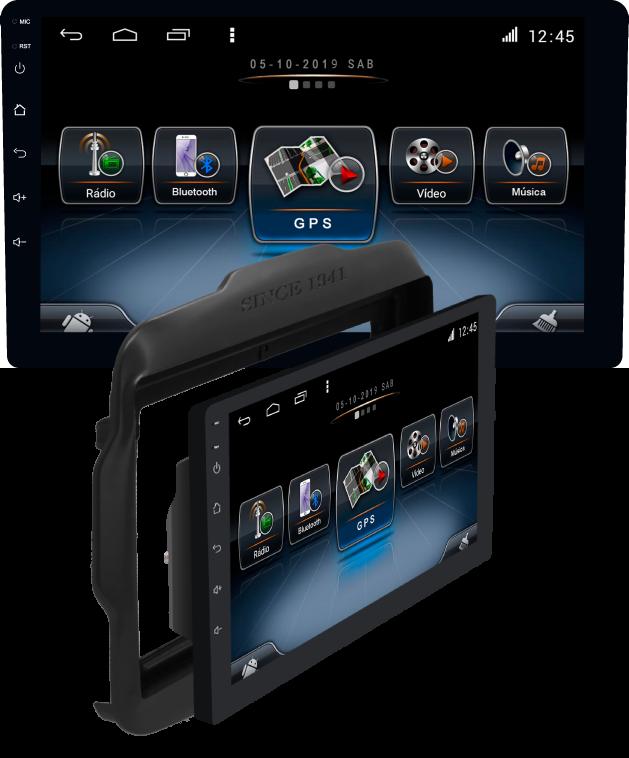 Central Multimidia VW Tcross  Winca ULTRA+ tela 9 polegadas QLED LCD SCREEN Processados Octacore 32Bg CarPlay, 2 Cameras Ré e Frontal, Waze, Youtube - Android 10.0