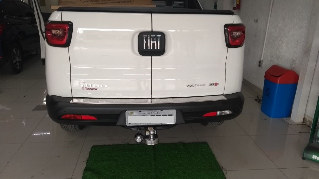Engate para reboque Fiat Toro 2015 Á 2020