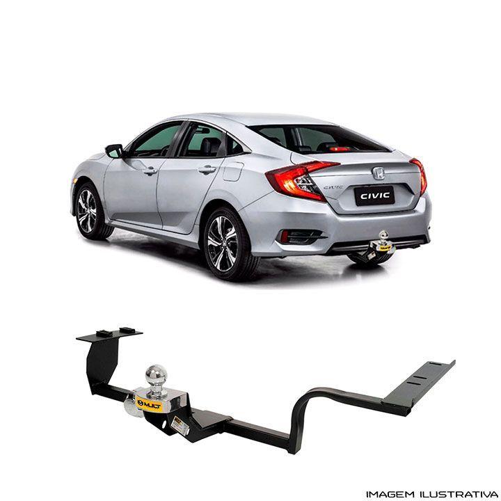 Engate para reboque Honda Civic G10 - 2017 2021