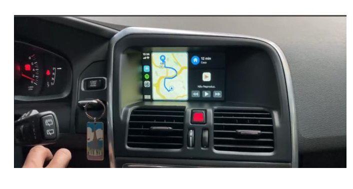 Interface Desbloqueio multimídia VOLVO XC60 V60 S60 + Camera de ré + Carplay AndroidAuto